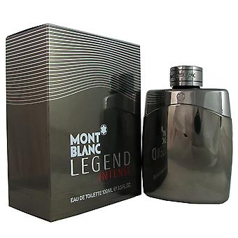 Legend Intense Men by Mont Blanc 3.3 oz EDT Spray
