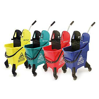 Bentley Heavy Duty 31 Litre Kentucky Mop Bucket With Wringer - Blue Green Yellow Red Available