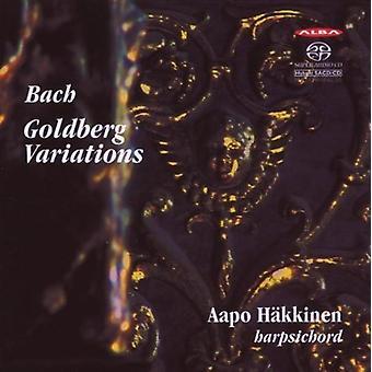 Bach, J.S. / Hakkinen - Goldberg variationer [SACD] USA import
