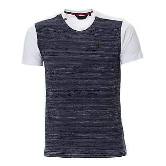 ETO Jeans Mens Eto Tshirt Style High White/Navy