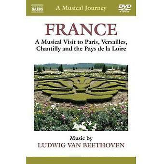 L.V. Beethoven - Musical Journey: France [DVD] USA import