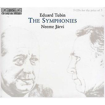 E. Tubin - Eduard Tubin: The Symphonies [CD] USA import
