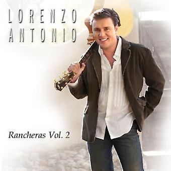 Lorenzo Antonio - Rancheras Vol. 2 [CD] USA import