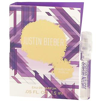 Justin Bieber Women Justin Bieber Collector's Edition Vial (Sample) By Justin Bieber