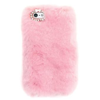 Attitude Clothing Pink Furry IPhone 6/6S Case