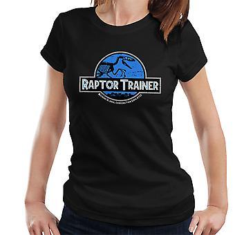 Raptor træner Jurassic verden kvinder T-Shirt