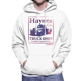 Haynes Brand lastbil Shop Sparkford Pickup mænds hættetrøje