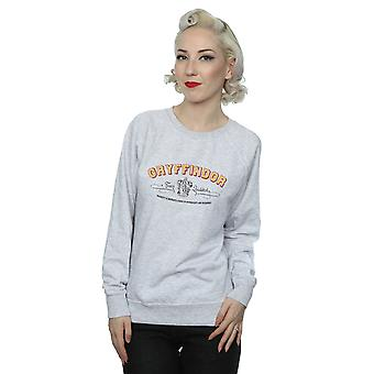Harry Potter Gryffindor equipo Quidditch sudadera mujer