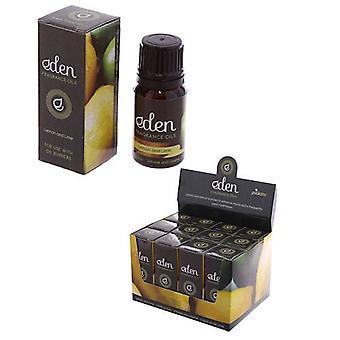 The Eden Range Fragrance Oil Lemon & Lime 10ml