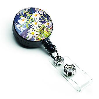 Carolines Treasures  6003BR Flowers - Daisy Retractable Badge Reel