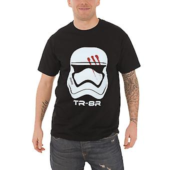 Star Wars T Shirt Force Awakens Stormtrooper Finn Traitor Official Mens Black