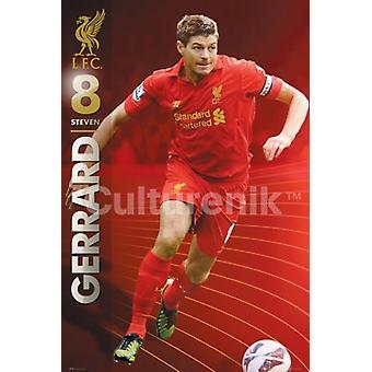 Liverpool Gerrard 1213 Poster Poster Print