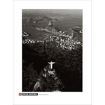 Rio De Janeiro Poster Print by Marilyn Bridges (24 x 32)