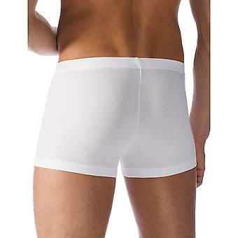 Mey 42627-101 Men's Software White Solid Colour Fitted Boxer