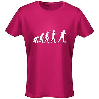 Football Evo Evolution Womens T-Shirt 8 Colours (8-20) by swagwear