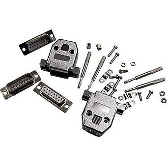 D-SUB plug 180 ° Number of pins: 9 Soldering BKL Electronic