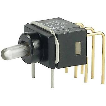 Toggle switch 28 V DC/AC 0.1 A 1 x On/On NKK Switches