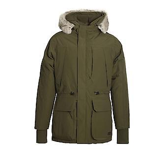 883 POLICE Guido Duckdown Hooded Parka Jacket | Khaki