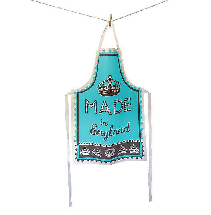 Blue Made in England Apron