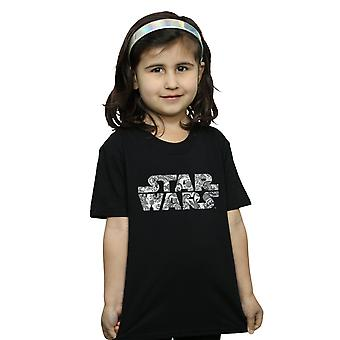 Star Wars Girls ornamentalen Logo T-Shirt
