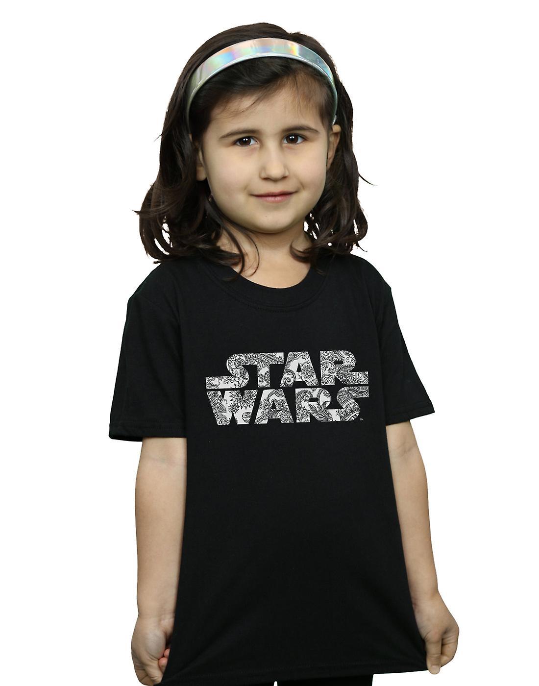 Star Wars filles ornementales Logo T-Shirt