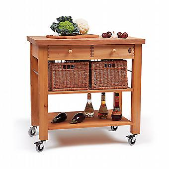The Lambourn Trolley two drawer