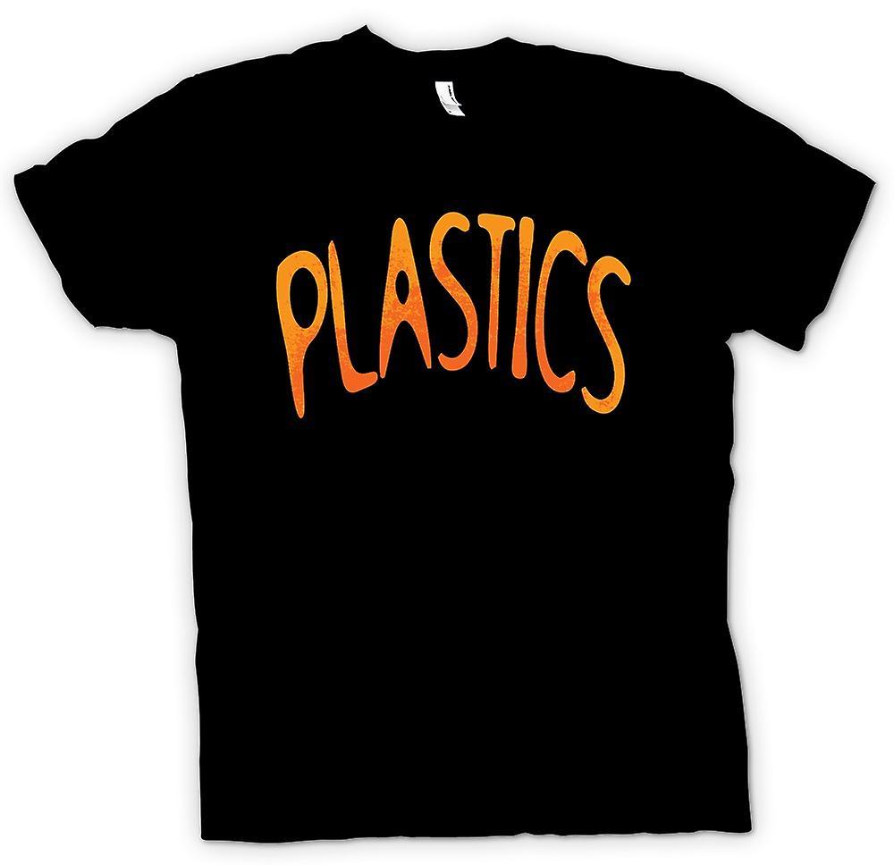 Mens t-skjorte - plast - Funny