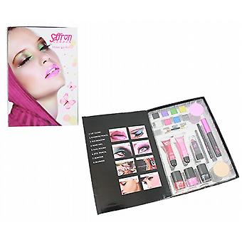 Saffron Night Out Make Up Kit - 19 Piece