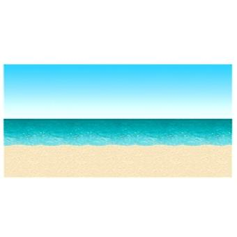 Blu cielo e oceano sullo sfondo