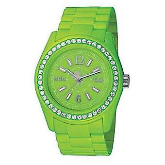 EDC by ESPRIT watch wrist watch ladies Discoglam Waterfall green EE900172006