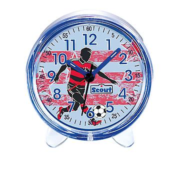 Scout boy alarm clock alarm favorite blue football 280001052