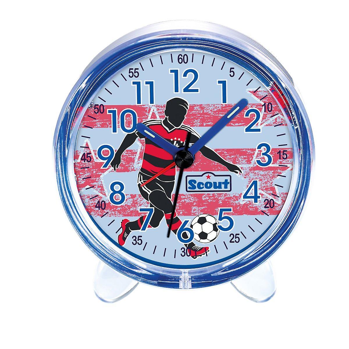 Scout Jungen Wecker Alarm Favorit blau Fußball 280001052