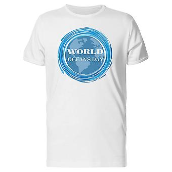 World Oceans Day Save The Planet Tee Men's -Image by Shutterstock