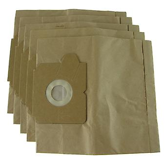 AEG kompakt dammsugare damm papperspåsar
