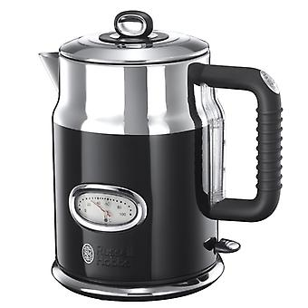 Russell Hobbs Kettle Retro black 1, 7 l