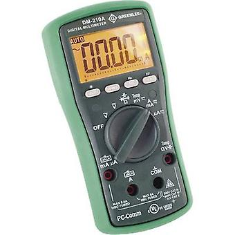 Greenlee DM-210A Handheld multimeter Digital CAT II 1000 V, CAT III 600 V Display (counts): 6000