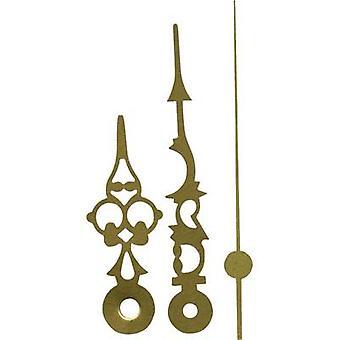 Clockhand set Polished/Antique Aluminium Brass Round