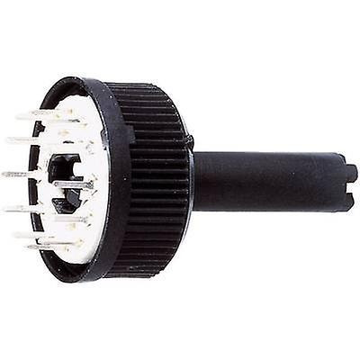 AB Elektronik 417 Rotary switch 150 V AC 0.13 A Switch postions 12 1 x 30 ° 1 pc(s)