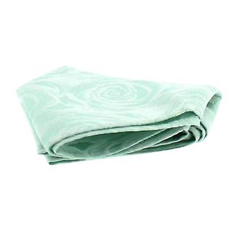 David Van Hagen bruiloft Rose Silk zakdoek - Sea Green