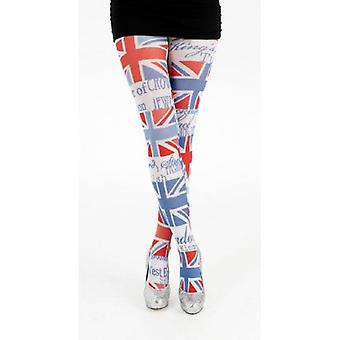Union Jack tragen Union Jack London Symbol Strumpfhosen