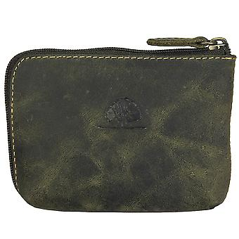 Greenburry couro vintage chave chave caso 338-30
