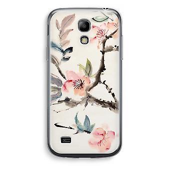 Samsung Galaxy S4 Mini przezroczyst - Japenese kwiaty