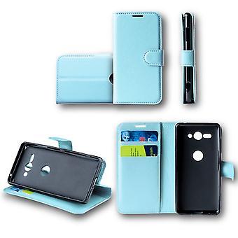 For Huawei mate 20 Lite Pocket wallet premium Blau Schutz sleeve case cover pouch new accessories