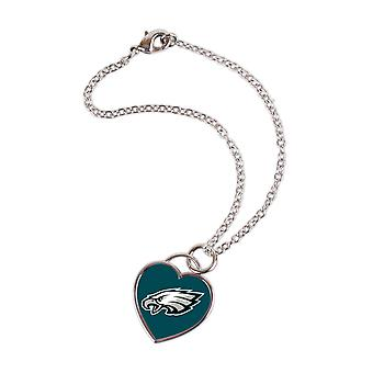 Wincraft ladies 3D heart bracelet - NFL Philadelphia Eagles