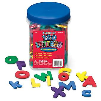 Magnesy - litery z pianki