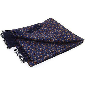 David Van Hagen Paisley lujo moda bufanda - Marina de guerra