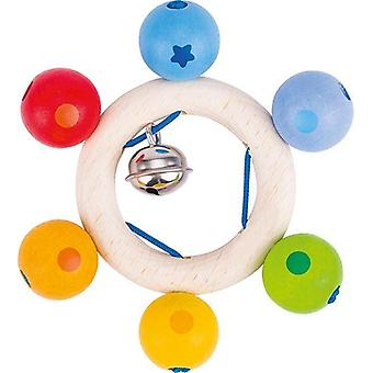 Heimess Touch Ring Rattle Rainbow Pearls