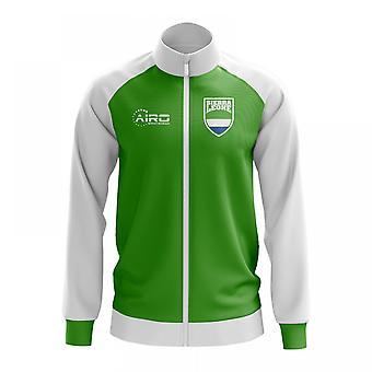 Sierra Leone konceptet fotboll Track Jacket (grön)