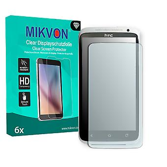 HTC X325E Screen Protector - Mikvon Clear (Retail Package with accessories) (reduced foil)