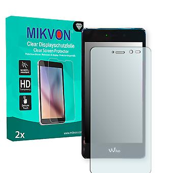 Wiko Tommy Screen Protector - Mikvon Clear (Retail Package with accessories)